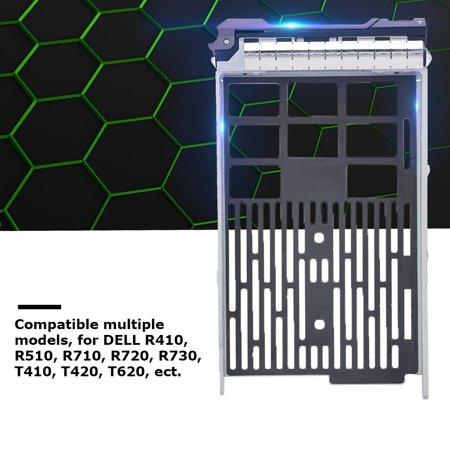 Zerone 3.5-inch SAS SATA SSD Hard Disk Drive Tray Bracket For DELL R410 R510 R710 R730 R720 Server, Hard Drive Bracket,Hard Disk Bracket ()
