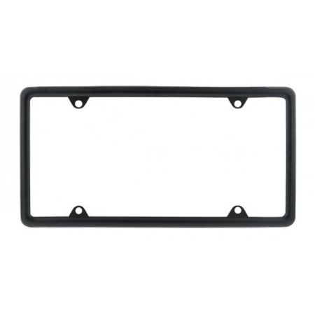 Tai Plate (Black Metal Car Pickup Truck RV License Plate Tag Frame Holder /)