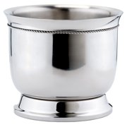 6¼ Qt. Stainless Steel  Double-Walled Wine Cooler w/Tie Knot
