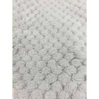 "RTC Fabrics Polyester Fleece 60"" Honeycomb Pattern Gray Fabric, per Yard"