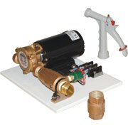 Groco C-60 12V Deck Wash Kit with PGN-50 Spray Nozzle and CV-75 Check Valve