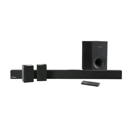 Refurbished Samsung hw-km38 4.1 Channel 200W Soundbar System with Wireless Subwoofer - HW- (Samsung Hw K450 Soundbar W Wireless Subwoofer)
