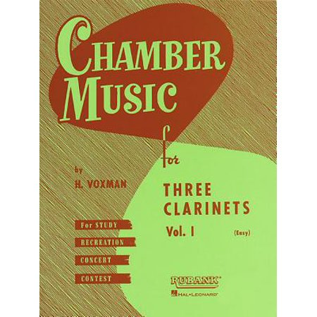 Chamber Music for Three Clarinets, Vol. 1 (Easy)](Easy Halloween Music For Clarinet)