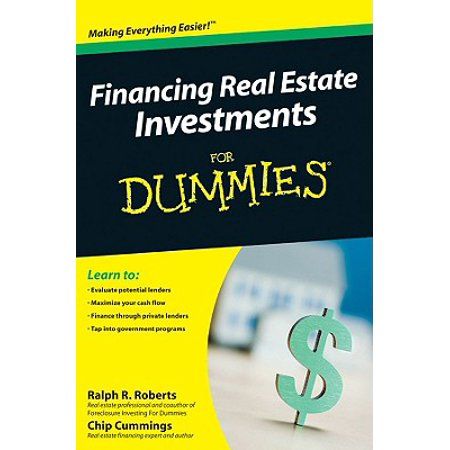Financing Real Estate Investments for Dummies (Capital Gains Tax On Real Estate Investment Property)