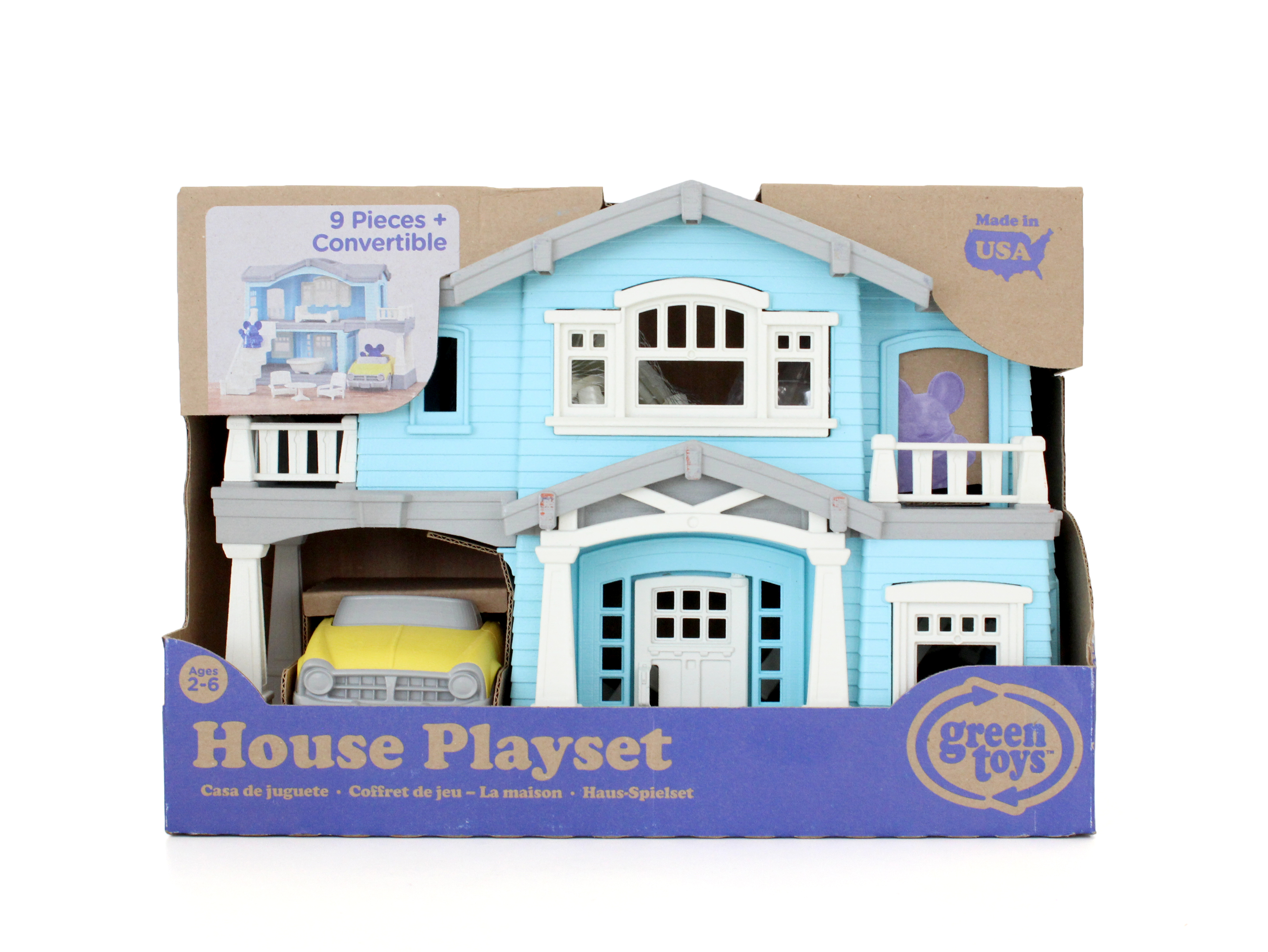 Green Toys House Playset - Walmart.com