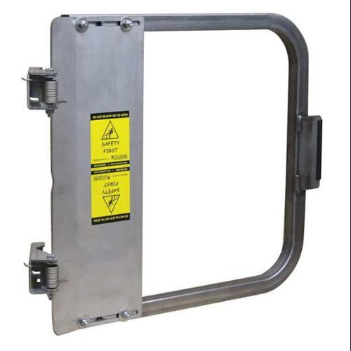 PS DOORS LSG-36-SS Safety Gate, 34-3/4 to 38-1/2 In, SS