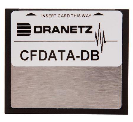 DRANETZ CFDATA-DB Compact Flash Memory Card, 4 Gb