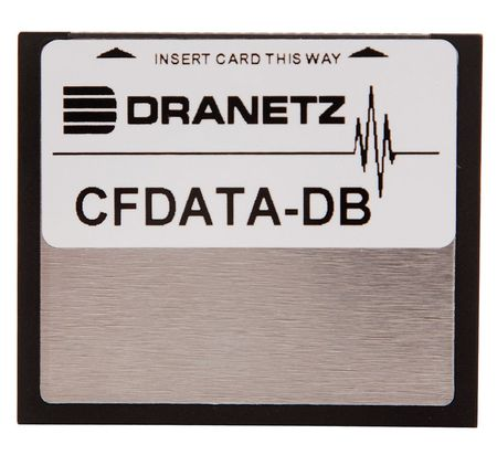 DRANETZ CFDATA-DB Compact Flash Memory Card, 4 Gb