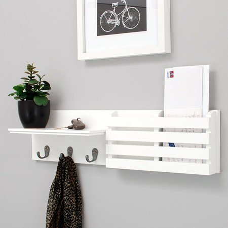 Wall Mounted Coat Rack - Ktaxon Entryway 24