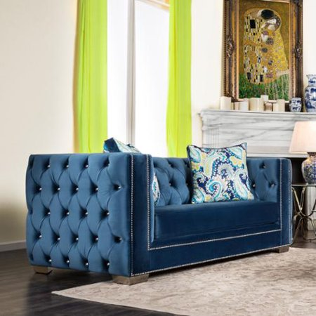 Strange Furniture Of America Giselle Contemporary Premium Velvet Caraccident5 Cool Chair Designs And Ideas Caraccident5Info