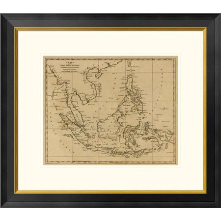 Global Gallery East India Islands, 1812 by Aaron Arrowsmith Framed Graphic Art