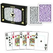 """Copag 1546 Poker Purple Gray Jumbo Index"" by BryBelly"