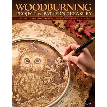 Woodburning Project & Pattern Treasury : Create Your Own Pyrography Art with 70 Mix-And-Match - Halloween Art Projects Pinterest