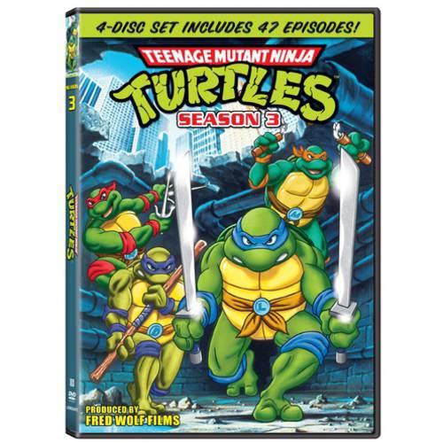 Teenage Mutant Ninja Turtles: Season Three (Full Frame)