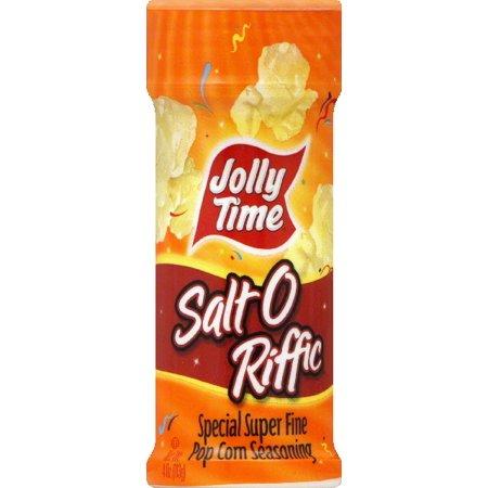 Jolly Time Popcorn Seasoning  Special Super Fine  Salt O Riffic