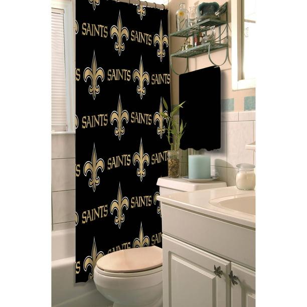 Nfl New Orleans Saints Shower Curtain