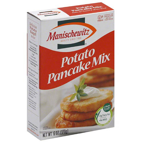 Manischewitz Potato Pancake Mix, 6 oz, (Pack of 6)
