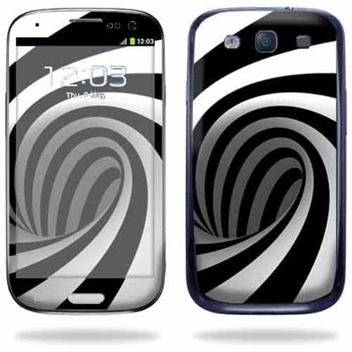 Mightyskins Protective Vinyl Skin Decal Cover for Samsung Galaxy S III S3 Cell Phone wrap sticker skins Tornado