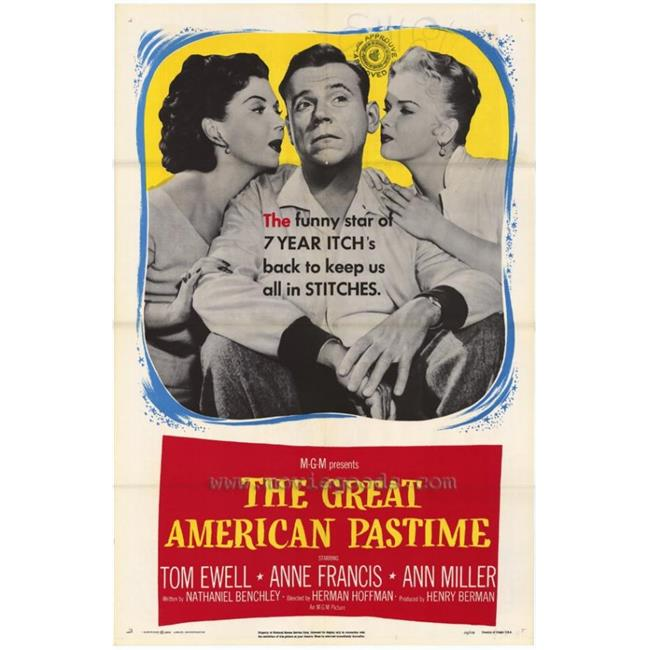 Posterazzi MOVGH6724 The Great American Pastime Movie Poster - 27 x 40 in. - image 1 de 1