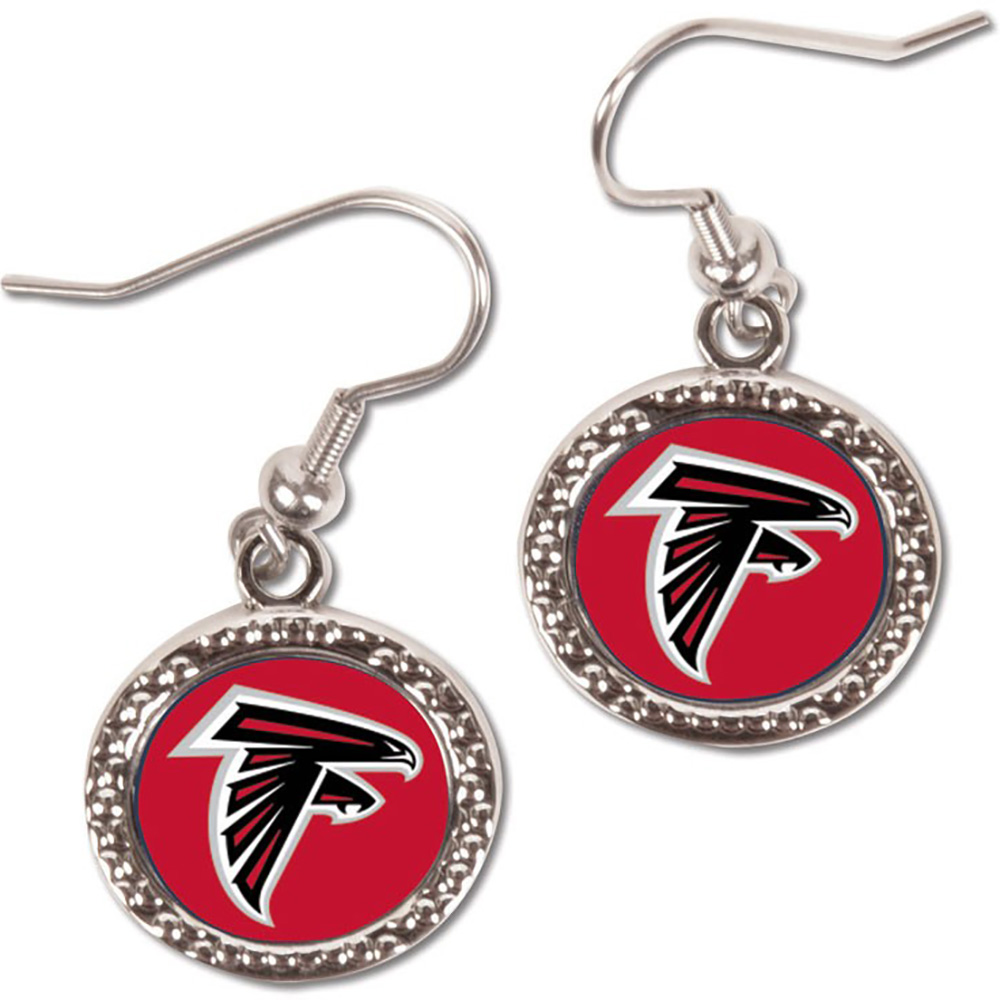 Atlanta Falcons WinCraft Women's Round Dangle Earrings - No Size