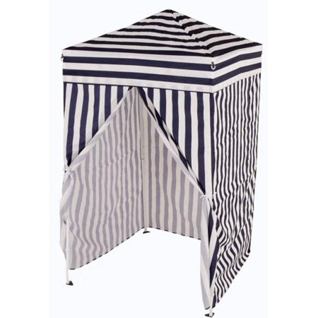 Impact Canopy 4x4 Pop up Changing Dressing Room, Privacy Cabana, Portable Changing Room, Navy Blue / White