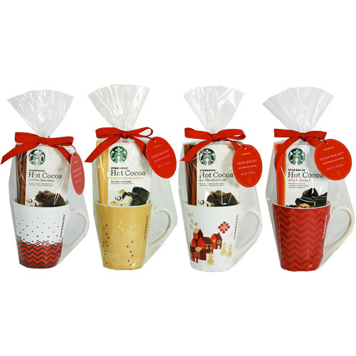 Starbucks Cocoa and Mug Gift Set, 2 pc (Design will vary)