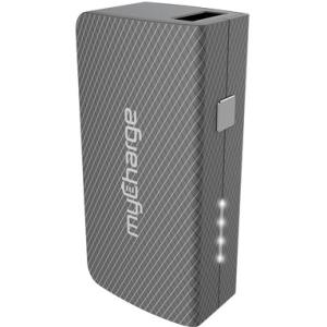 myCharge AmpPlus 3000mAh Portable Charger with Built-In USB Cable