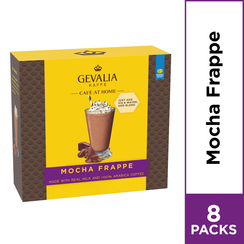 Gevalia Cafe At Home Mocha Frappe Coffee Mix 8 Packets Walmart