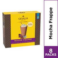 Gevalia Cafe at Home Mocha Frappe Coffee Mix, 8 Packets
