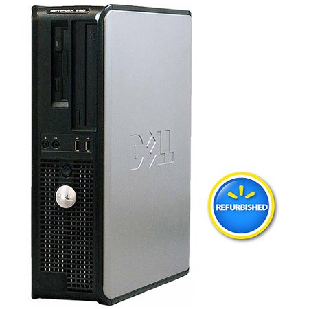 Refurbished Dell Optiplex 360 Desktop PC with Intel Dual-Core Processor,  2GB Memory, 1 5TB Hard Drive and Windows 7 Professional (Monitor Not