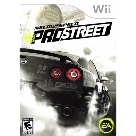 need for speed prostreet wii. Black Bedroom Furniture Sets. Home Design Ideas
