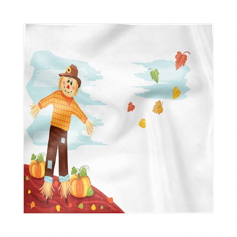Longaberger Fall Harvest Halloween Pumpkin Patch Fabric Napkins 2677884 USA NWOB