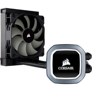 Corsair Hydro Series, H60, 120mm Radiator, Single 120mm PWM Fan, Liquid CPU