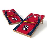 TTXL Shield V Logo MLB St. Louis Cardinals Bean Bag Toss Game