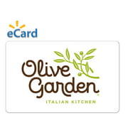 Olive Garden® $25 Gift Card (Email Delivery)