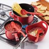 Rachael Ray 3-Piece Tools & Gadgets Lazy Kitchen Utensil Set, Red