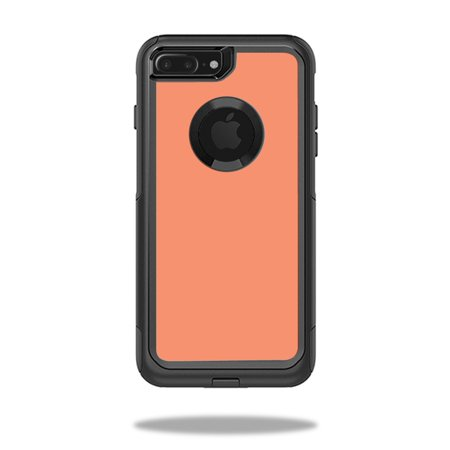 MightySkins Protective Vinyl Skin Decal for OtterBox Commuter iPhone 7 Plus Case wrap cover sticker skins Solid Peach](Plus Size Princess Peach)