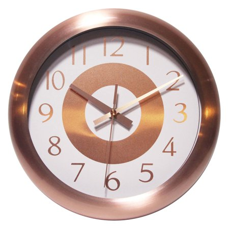 Infinity Instruments Copper Classic 10 diam. in. Wall Clock