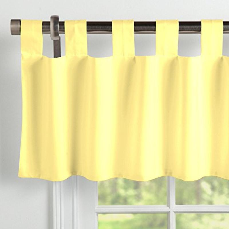 Carousel Designs Solid Banana Window Valance Tab-Top by Carousel Designs