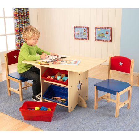 Kidkraft Star Table And Chair Set Walmart Com