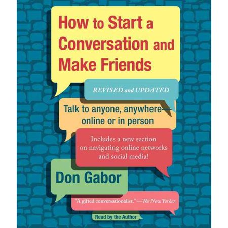 how to start conversations to make friends
