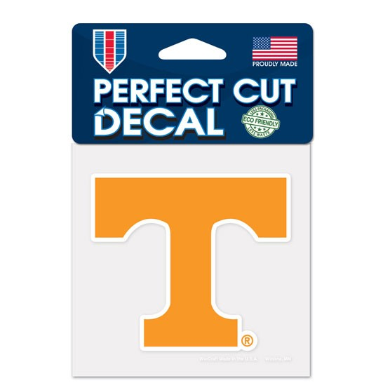 Tennessee Volunteers 4x4 Perfect-Cut Car Auto Decal Sticker