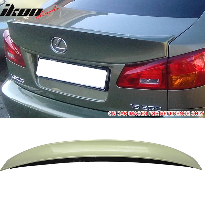 Fits 06-13 Lexus IS250 IS350 ISF Rear IK Style Trunk Lip Wing Spoiler ABS