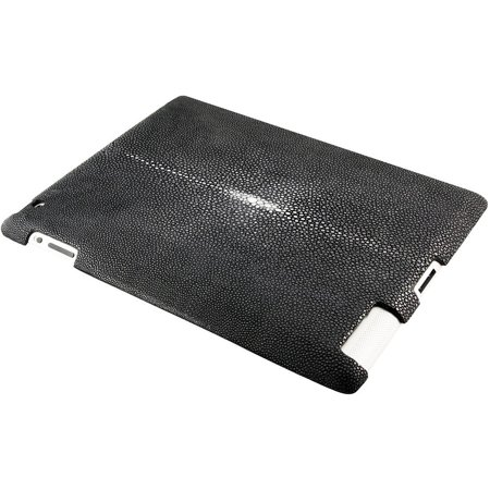 100% Genuine Stingray Leather iPad 2 - Black