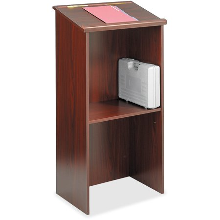 Safco, SAF8915MH, Stand Up Lectern, 1 / (Wood Lectern)