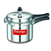 Prestige Popular Aluminium Pressure Cooker, 3 Liters