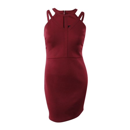 Scala Cocktail - Guess Women's Caged Scuba Bodycon Dress