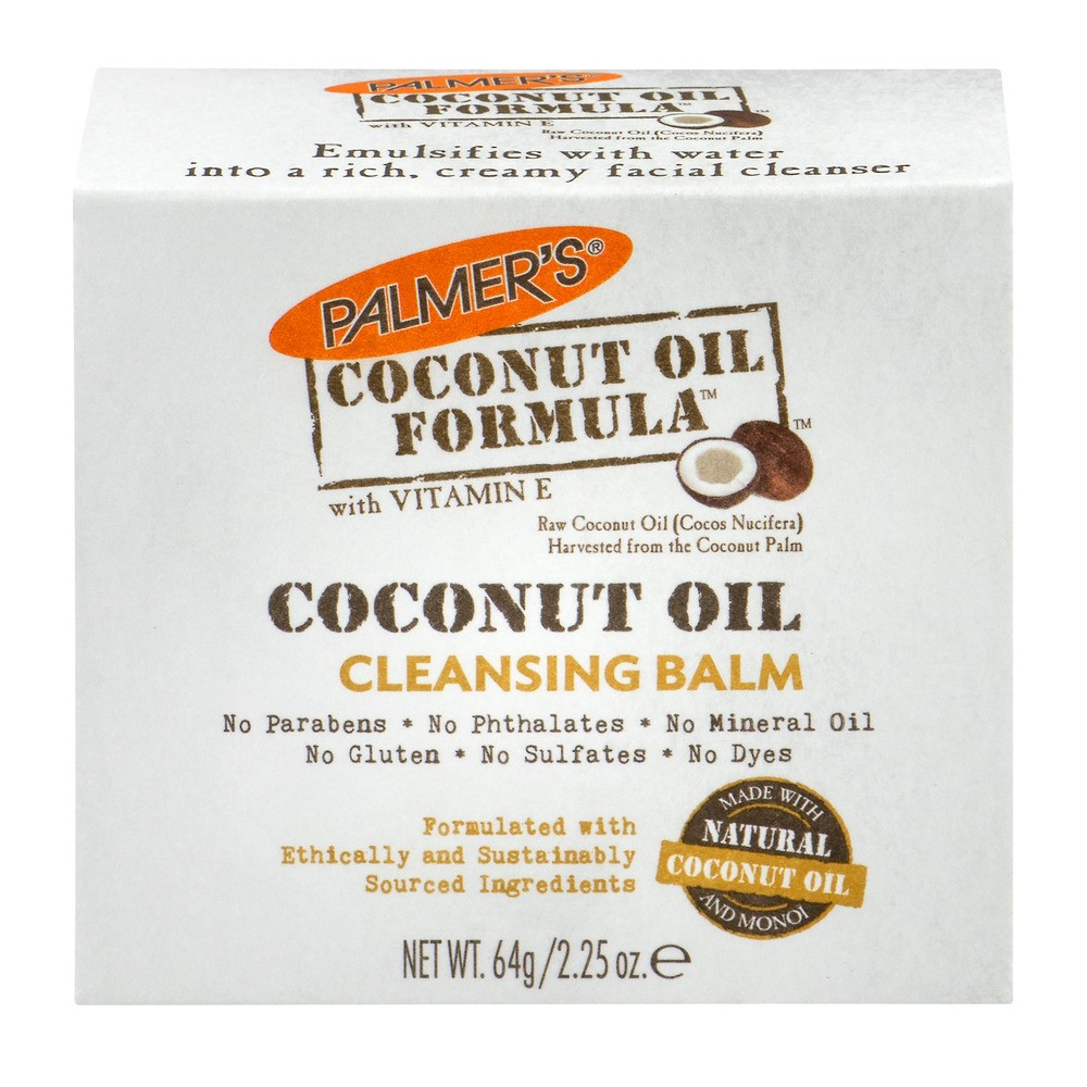 Palmer's Coconut Oil Formula with Vitamin E Facial Cleansing Balm, 2.25 OZ