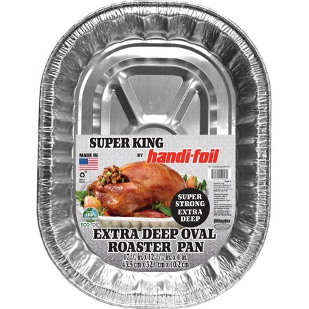 Foil Roaster (Handi-foil Oval Super King Roaster)