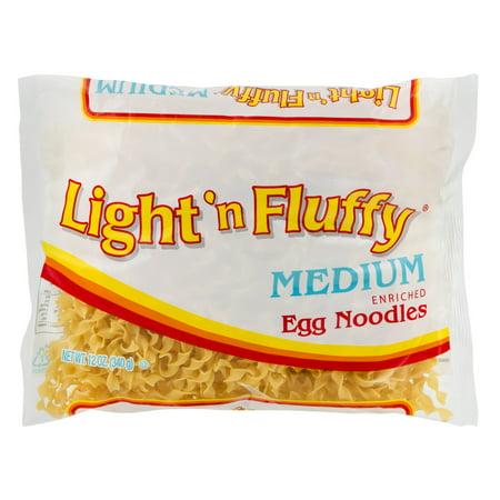 Light 'N Fluffy Medium Egg Noodles Pasta, 12 oz